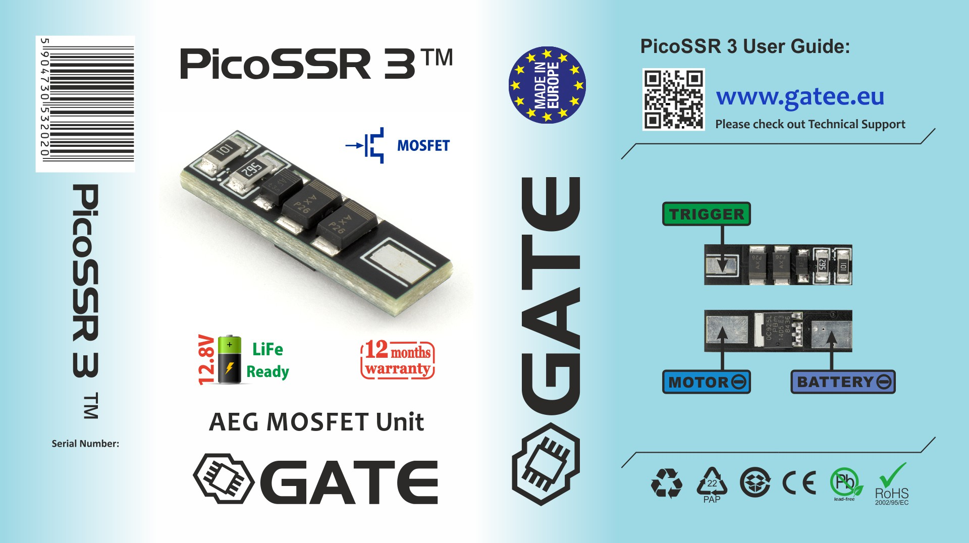 installation of picossr 3 with replacement of wires (gb v2)